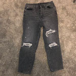 Urban Outifitters BDG black vintage striaght jeans